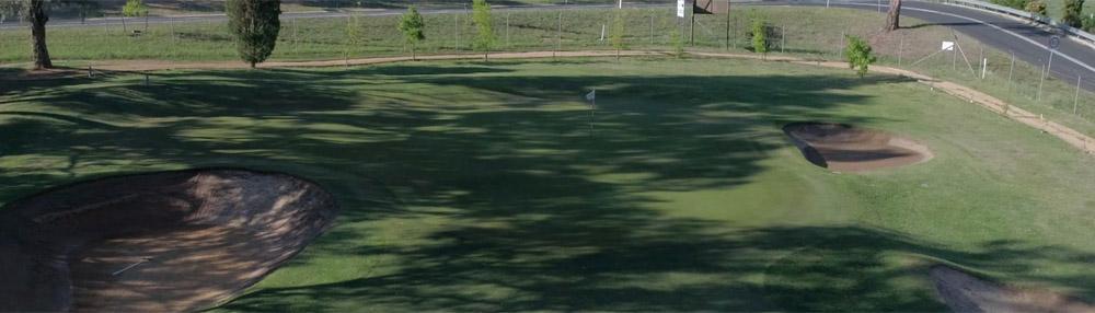 2nd Hole Bathurst Golf Club