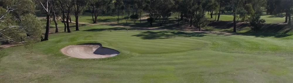 3rd Hole Bathurst Golf Club